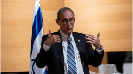 Nachman Shai, ministru <span style='background:#EDF514'>ISRAELI</span>an, indeamna romanii sa se vaccineze: Nu sunt platit de Guvern sa va spun asta
