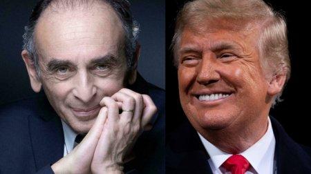 Eric Zemmour, candidat la alegerile prezidentiale din Franta, pare a fi Donald Trump francez. Asemanarile dintre cei doi