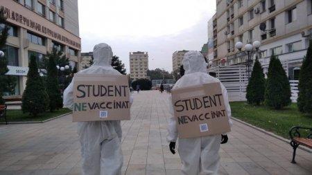 Studentii ieseni nu vor certificat verde in universitati. Nici studentii vaccinati nu sunt de acord cu aceste abuzuri