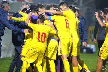 Victorie in fata Turciei, la ultimul meci al Romaniei U18 in Turneul celor 4 Natiuni » Un dinamovist a adus victoria
