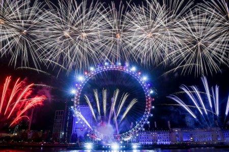 Focurile de artificii de <span style='background:#EDF514'>ANUL NOU</span> de la Londra, anulate pentru al doilea an consecutiv din cauza pandemiei