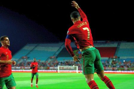 Inca doua goluri pentru <span style='background:#EDF514'>CRISTIANO RONALDO</span> la nationala » A inscris din nou impotriva victimei preferate