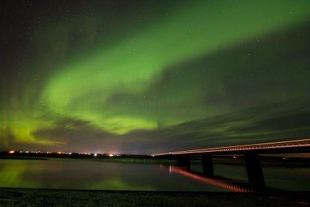 Aurorele boreale vor fi vizibile mai la sud decat de obicei din cauza unei furtuni geomagnetice