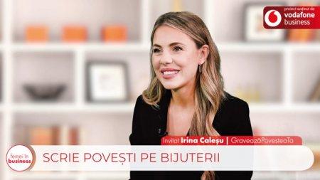 Proiect ZF/Vodafone. Femei in business. Irina Calesu, fondator, Graveaza Povestea Ta. Antreprenoriatul este o cale foarte frumoasa de urmat pentru orice femeie care crede in visurile ei. Libertatea de a lua decizii iti intra in spirit