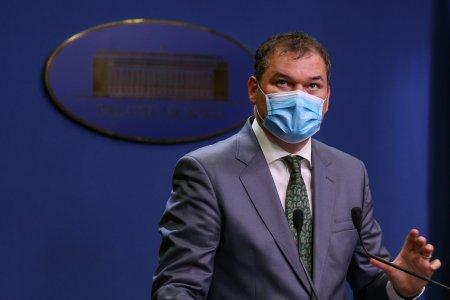 Ministrul Sanatatii: Este evident ca numarul de persoane infectate zilnic nu corespunde exact realitatii