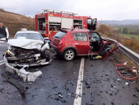 Un grav accident de circulatie a avut loc pe DN 1