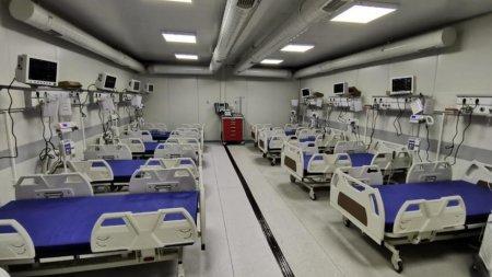 Spitalul modular de la Letcani, redeschis cu intarziere