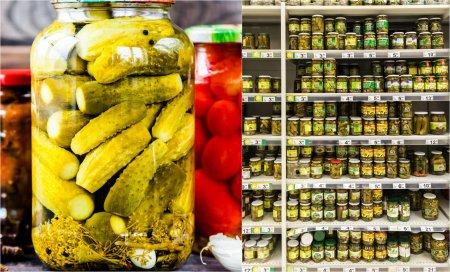 Otet <span style='background:#EDF514'>FALSIFICAT</span>, descoperit de ANPC in marile supermarketuri din Bucuresti si Ilfov. Ce substante erau bagate in sticle
