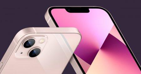 <span style='background:#EDF514'>APPLE</span> micsoreaza productia de Iphone 13 din cauza penuriei de cipuri