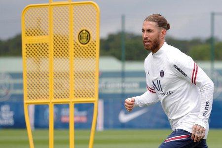 Sergio Ramos isi amana din nou debutul la PSG. E noul Redondo al fotbalului european