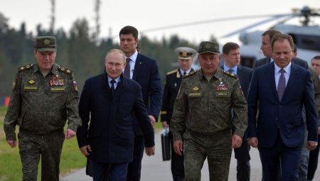 Vladimir Putin: Cursa inarmarii intre SUA si Rusia este in plin avant