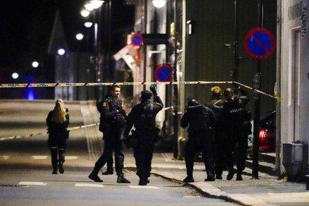 Mai multi morti si raniti, dupa un atac comis de un barbat in<span style='background:#EDF514'>ARMAT</span> cu un arc cu sageti, in orasul norvegian Kongsberg. Un suspect a fost retinut