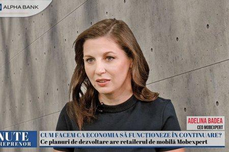 ZF 15 minute cu un antreprenor, un proiect Ziarul Financiar si Alpha Bank. Adelina Badea, CEO al Mobexpert: Ne-am propus ca anul acesta sa avem o crestere de circa 12% fata de 2019. In ceea ce priveste expansiunea, mizam pe magazine mici.  In 2019, ultimul an de dinainte de pandemie, grupul Mobexpert a avut afaceri de peste 200 de milioane de euro