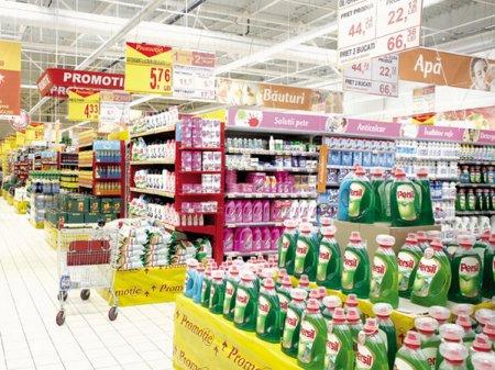 Vanzarile de bunuri FMCG au crescut pe vara de doua ori mai lent in Bucuresti si Ilfov decat la nivel national. Brasov, Timis, Cluj, Constanta, <span style='background:#EDF514'>BIHOR</span> si Iasi sunt judetele cu cele mai importante cresteri ale vanzarilor de bunuri de larg consum