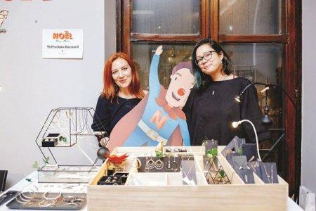 Afaceri de la Zero. Irina Enea si Alexandra Martoiu creeaza <span style='background:#EDF514'>BIJUTERII</span> de colectie sub brandul MyPrecious Buzztard intr-un atelier din Bucuresti