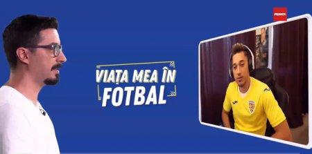 ORA 12. Viata mea in fotbal. Invitat Cosmin Petrescu, <span style='background:#EDF514'>ROMANUL</span> care a ajuns printre cei mai buni jucatori de FIFA din lume