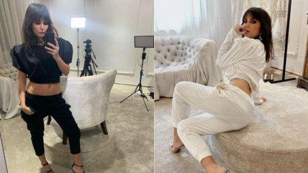 Dana Budeanu, <span style='background:#EDF514'>FOTOGRAFIA</span> in cea mai mulata rochie care a pus pe jar imaginatia fanilor. Cum arata designerul