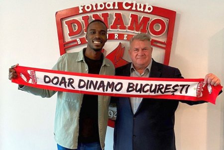Dinamo, prima achizitie din colectia toamna-iarna » Fotbalistul a fost prezentat oficial