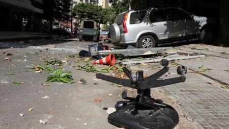 Revolta la Beirut. Cel putin un mort si numerosi raniti, dupa ce s-au tras <span style='background:#EDF514'>FOCURI DE ARMA</span> la un miting Hezbollah