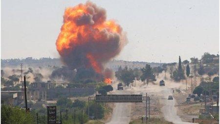 Atac aerian israelian asupra provinciei siriene Homs. Au fost raportati patru morti si sapte raniti