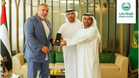 Ceasul de lux al lui Cosmin Olaroiu, furat in Italia, a fost recuperat in Dubai
