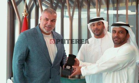 Cosmin Olaroiu si-a recuperat ceasul de lux, tocmai in Dubai, dupa ce fusese furat in Milano