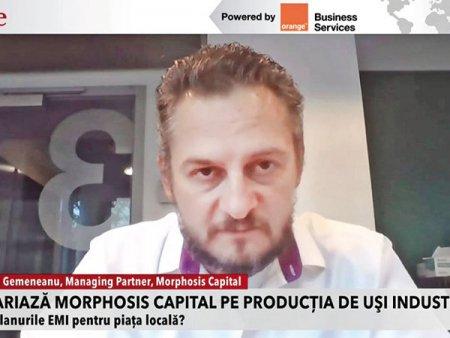 ZF Live. <span style='background:#EDF514'>ANDREI</span> Gemeneanu, Morphosis Capital si Jérôme France, EMI: Ne propunem dublarea sau triplarea cifrei de afaceri in urmatorii cinci ani. Fondul de investitii Morphosis Capital a preluat recent 51% din actiunile companiei EMI, jucator in piata sistemelor industriale de acces. Valoarea tranzactiei a fost de 15 milioane euro