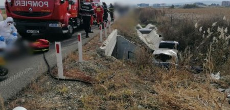 Cine sunt barbatii morti in accidentul de pe <span style='background:#EDF514'>SOSEA</span>ua de centura a Radautiului. Testau o masina adusa din strainatate, cu volanul pe dreapta