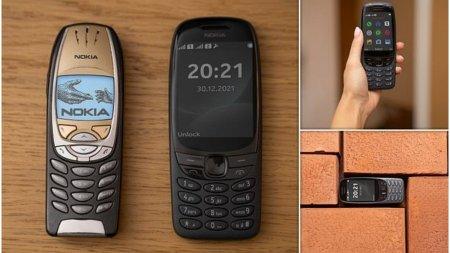 Nokia lanseaza o varianta noua a celebrului telefon 6310, pentru a sarbatori aniversarea de 20 de ani de la primul model