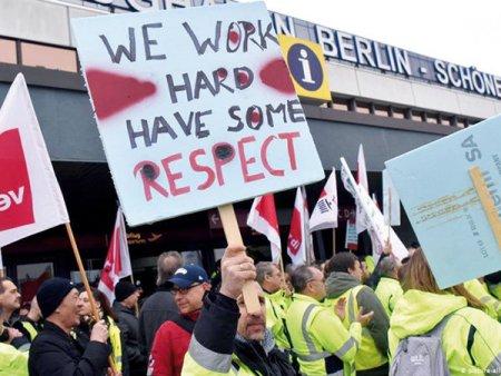 Muncitorii germani cer cresteri salariale excesiv de mari in timp ce inflatia doboara recorduri. <span style='background:#EDF514'>ECONOMISTI</span>i se tem ca majorarile salariale si cresterile de preturi vor crea o spirala mortala. Institutul IfW i-a avertizat pe angajatori sa se astepte la majorari salariale excesiv de mari in anii care urmeaza, majorari de 5% fiind realiste