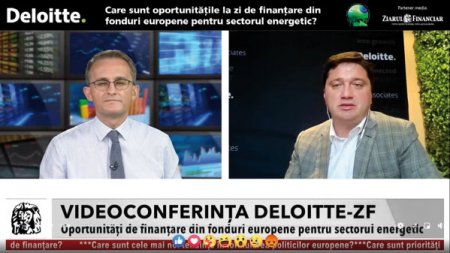 Videoconferinta Deloitte - ZF. Avem nevoie de la guvern de politici care sa puna in miscare investitiile in energie. Nevoia de investitii este de 23 mld. euro in urmatorii 9 ani. Explozia preturilor din energie in Romania se datoreaza si lipsei de investitii din energie in ultimii 5 ani