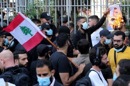 Zi de doliu decretata in Liban dupa ce sase persoane au fost ucise la un protest