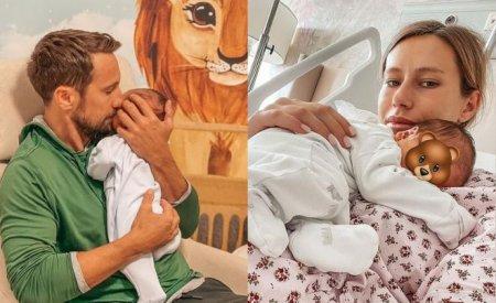 Gabriela Prisacariu a publicat un filmulet in care se vede chipul micutului ei si a lui Dani Otil. Cat de dragalas este Luca Tiago
