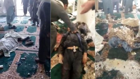 Atentat la Kandahar. Cel putin sapte oameni au murit intr-o explozie la o moschee, in timpul rugaciunilor. ISIS-K, prim suspect