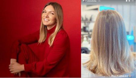 Simona Halep, preocupata de aspect. Sportiva a ajuns la salonul de infrumusetare, pentru o schimbare de look FOTO