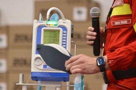 CNSU: Ventilatoarele si concentratoarele de la Unifarm vor fi distribuite in spitale