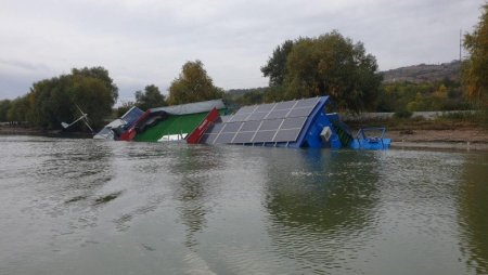 Raluca Turcan, dupa scufundarea pontonului inaugurat de ea la Tulcea: Ma intereseaza sa nu existe niciun risc pentru copii