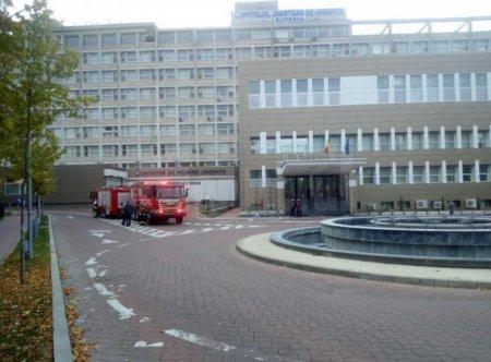 Pacienti evacuati de la Spitalul Judetean Suceava, dupa ce <span style='background:#EDF514'>PERSON</span>alul a simtit miros de fum intr-un salon