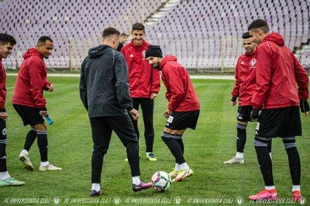 U Cluj ajunge pe locul <span style='background:#EDF514'>SECUND</span> in Liga 2