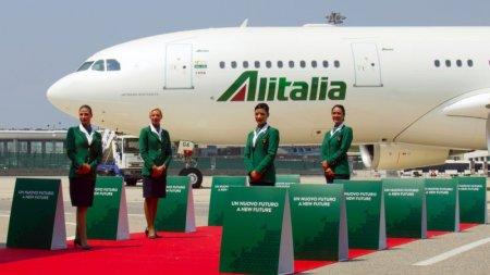 Compania aeriana <span style='background:#EDF514'>ALITALIA</span> si-a inchis definitiv portile