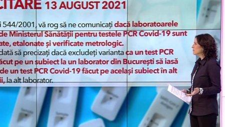 Sunt verificate laboratoarele acreditate pentru <span style='background:#EDF514'>TESTELE</span> RT-PCR COVID-19? Ministerul Sanatatii refuza de doua luni sa raspunda
