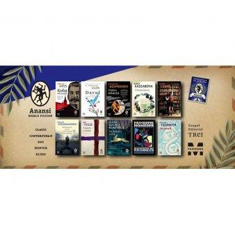 10 noi titluri im<span style='background:#EDF514'>BOGAT</span>esc, din toamna aceasta, portofoliul colectiei Anansi. World Fiction