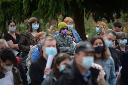 Rata de infectare in Bucuresti, la un nou nivel fara precedent. Pentru prima data s-a depasit pragul de 16 cazuri la mia de locuitori