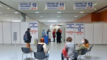 Vaccinare anti-COVID in Romania, 16 octombrie 2021: Aproape 60.000 de romani s-au vaccinat in ultimele 24 de ore