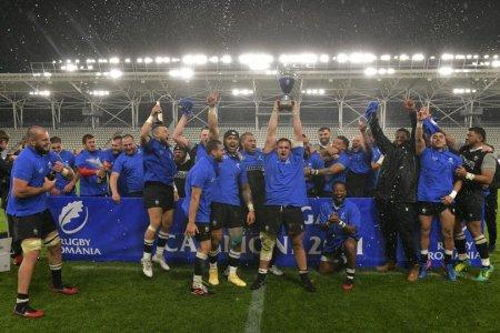CSM Stiinta Baia Mare, campioana Romaniei la rugby