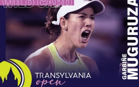 Garbine Muguruza vine la Cluj-Napoca. Numarul 6 mondial a primit un wild card la Transylvania Open. Mesajul in limba romana al ibericei | VIDEO
