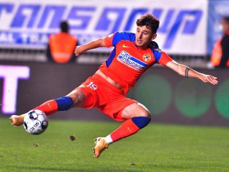 FCSB - Mioveni 3-0. Victorie obtinuta cu 13 jucatori pe foaia de joc