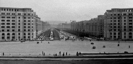 Mutilarea Bucurestiului in Epoca de Aur. Marele Bulevard Victoria Socialismului era prea scurt. Ceausescul-a prelungit