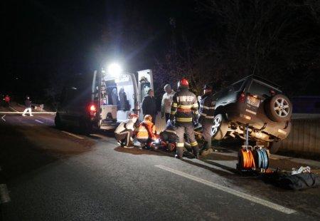 Ucis de propria masina. Un sofer din Botosani a uitat sa traga frana de mana, iar vehiculul l-a strivit