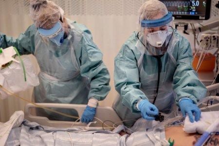 Inca o zi fara niciun pat liber la ATI in tara pentru pacientii bolnavi de COVID